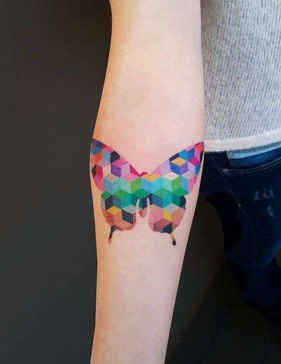 tatuajes de mariposas 8
