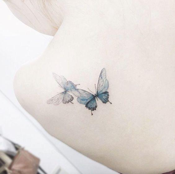 10 Hermosos Tatuajes De Mariposas Y Su Significado Diseño Diseño