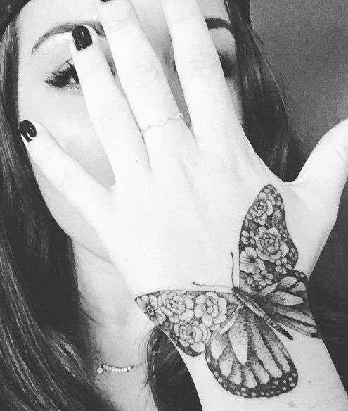 tatuajes de mariposas 9