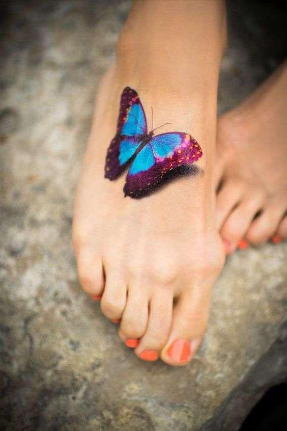 tatuajes de mariposas 7