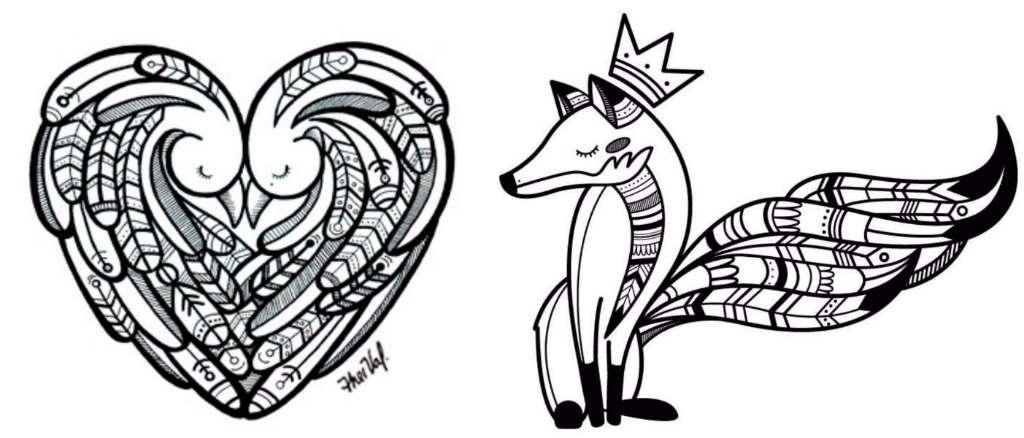 Tatuajes Inspirados En Ilustraciones De Artistas Mexicanos Diseño