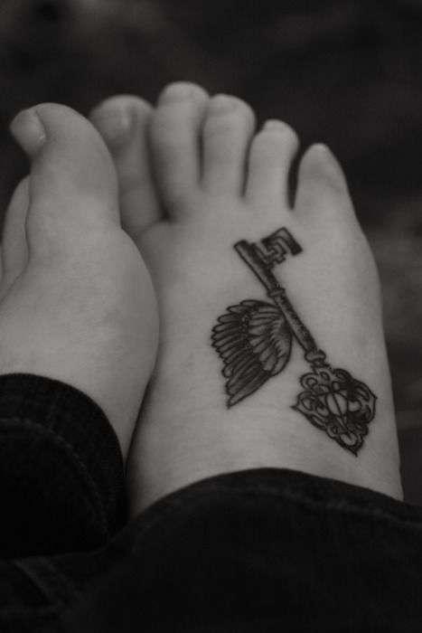 tatuajes para cerrar ciclos pies