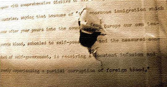 theodore roosevelt manuscrito