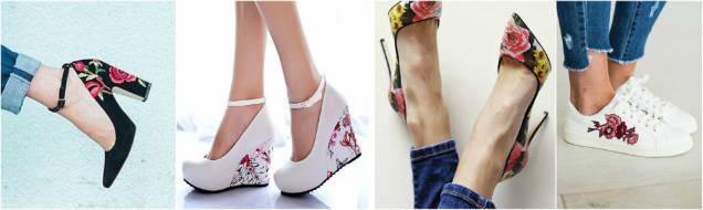 trendy floral prints shoes-w636-h600