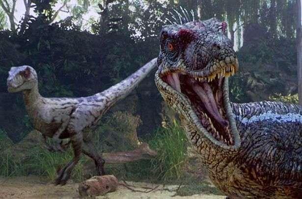 velociraptor reptiles