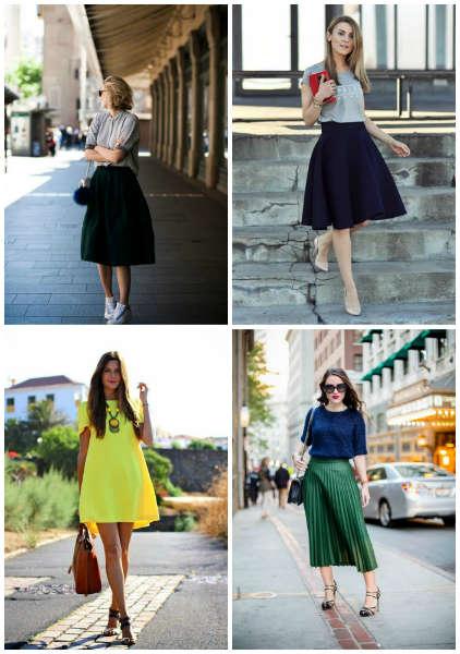 ed3c80343 Vestidos y faldas que harán que tus piernas luzcan mejor - Moda - Moda