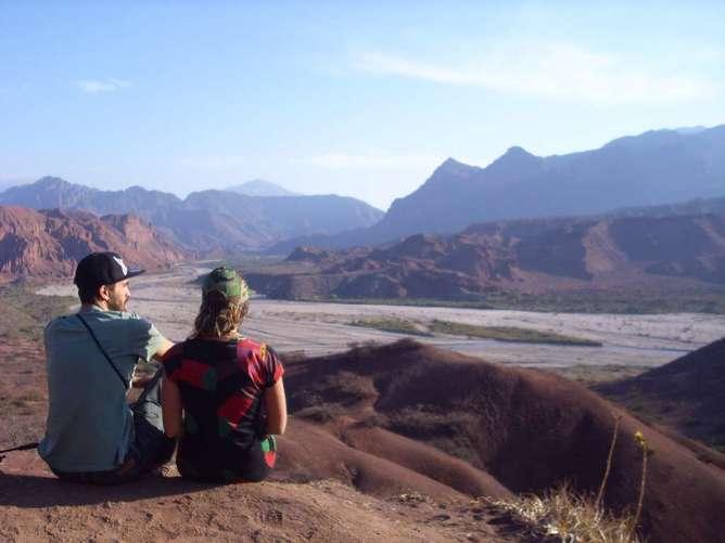 viajar con tu pareja por primera vez desierto