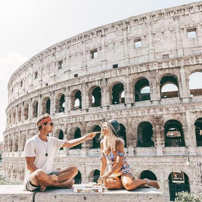 viajar con tu pareja por primera vez roma