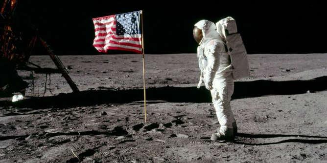 viaje a la luna astronauta neil armstrong