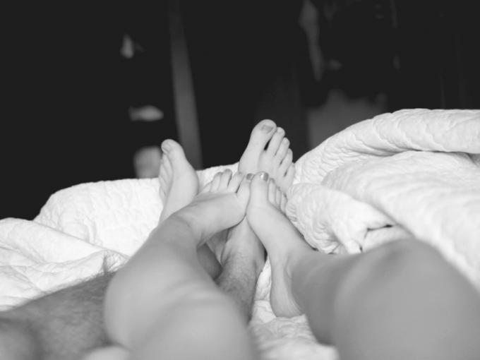 vida sexual miserable piernas