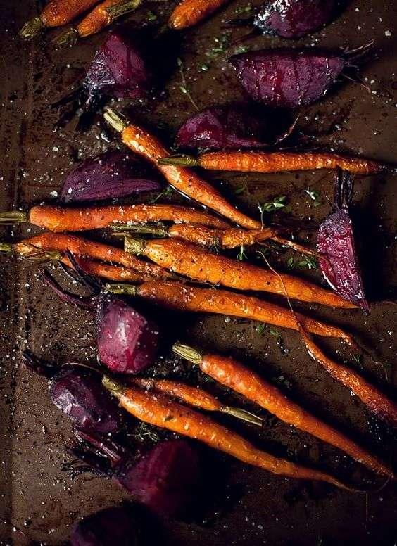 zanahoria alimentos refrescantes