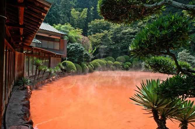 lugares mas extraños de japon mar del diablo