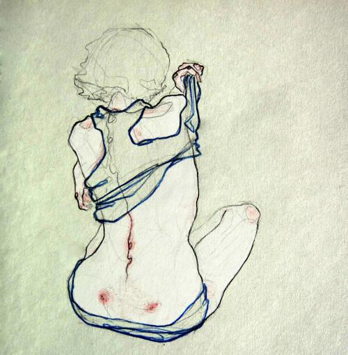 Adara Sanchez Anguiano erotic illustrations back