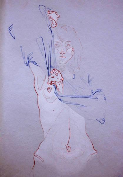 Adara Sanchez Anguiano erotic illustrations boob