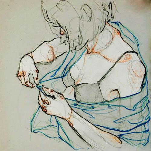 Adara Sanchez Anguiano erotic illustrations bra
