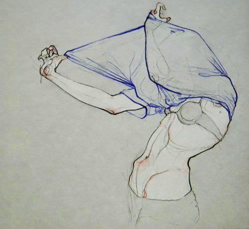 Adara Sanchez Anguiano erotic illustrations curve