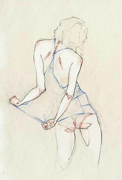Adara Sanchez Anguiano erotic illustrations undies