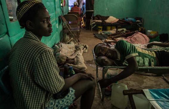 onu en crisis por epidemia de colera