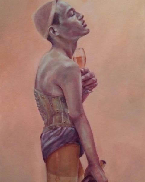 Harmonia Rosales black woman paintings undressed-w600-h600