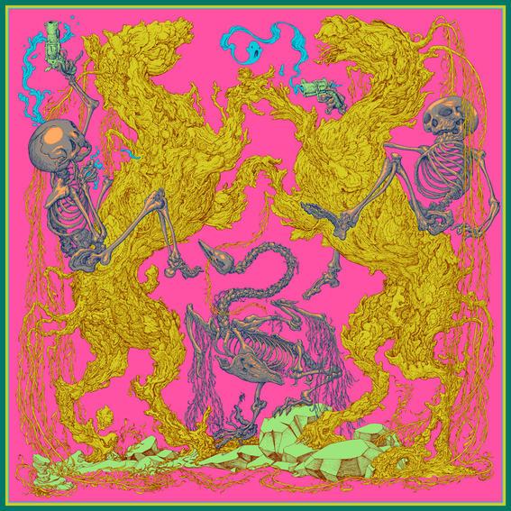 Ilustraciones de lo que tu mente imagina bajo el efecto de las drogas duelists