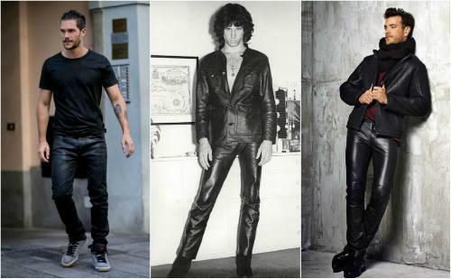 Jim Morrison Romantic Bohemian Style Leather