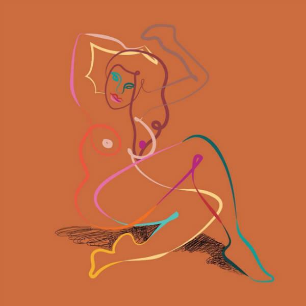 Marina Esmeraldo women illustrations hair-w600-h600