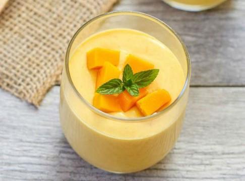 Postres de mango- Mousse