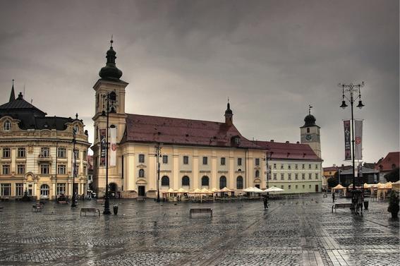 Sibiu-centro-rumania