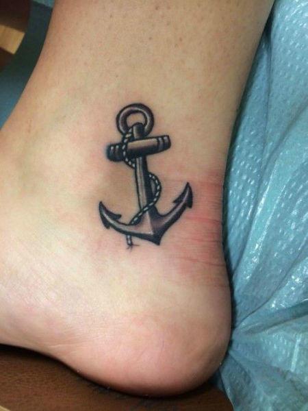 Tatuajes Para Fotos- Ancla
