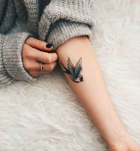Tatuajes Para Fotos- Ave