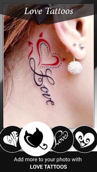 Tatuajes Para Fotos- Corazon