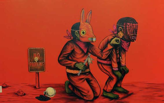 artistas urbanos mexicanos