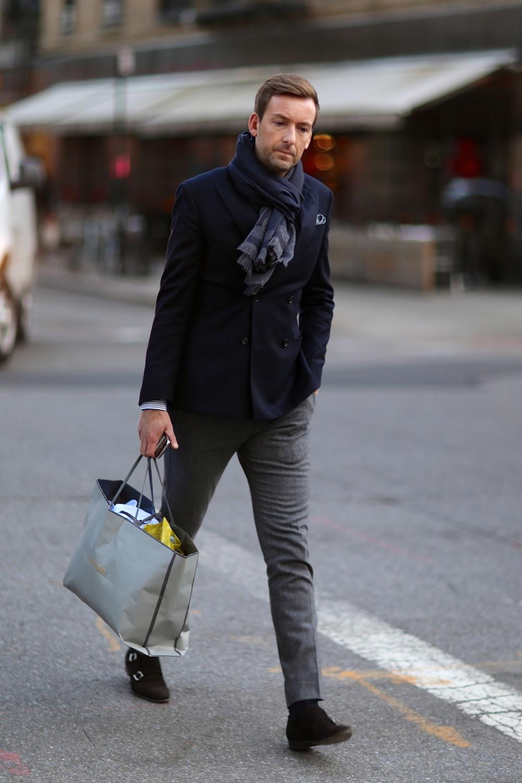 blazer estilo britanico para hombre