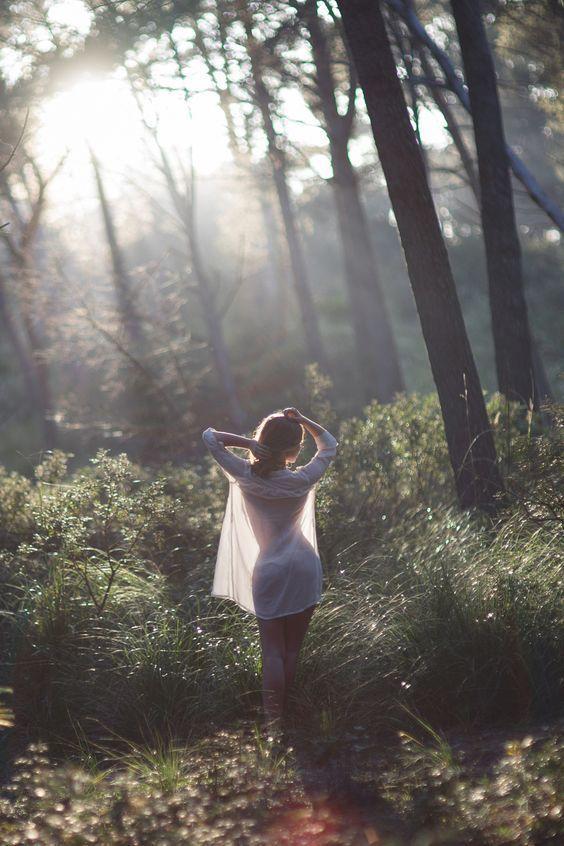 como tomar fotos con luz natural bosque