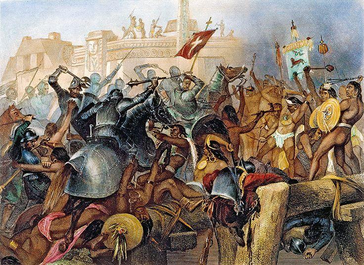 conquista maya
