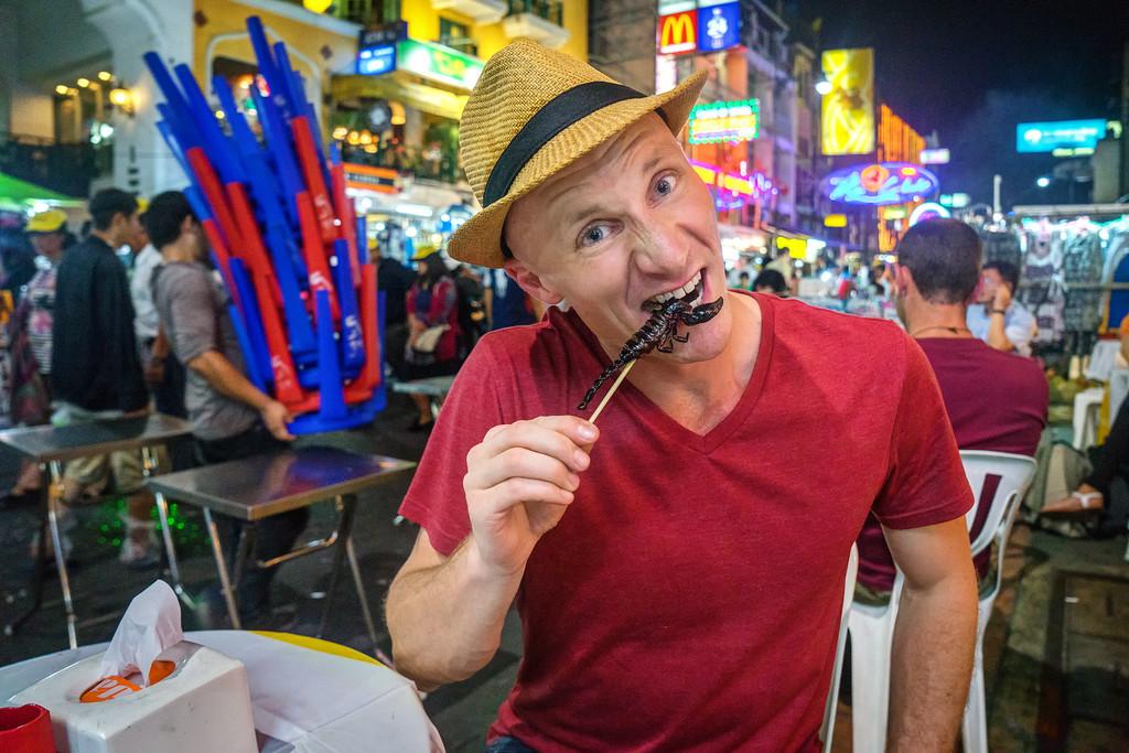 consejos para viajar de Matthew Karsten comida