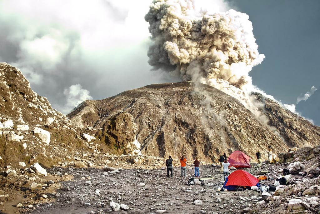 consejos para viajar de Matthew Karsten volcan