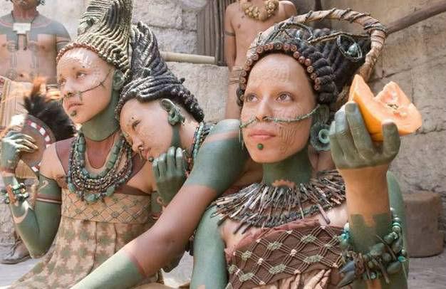 belleza en la cultura maya
