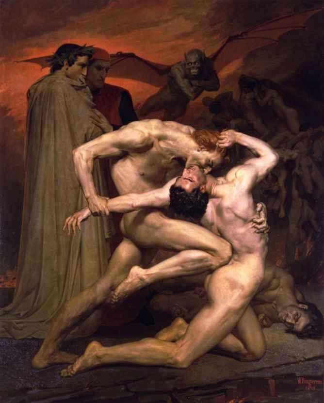 obras de arte del infierno 1