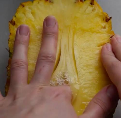 food eroticism pineapple
