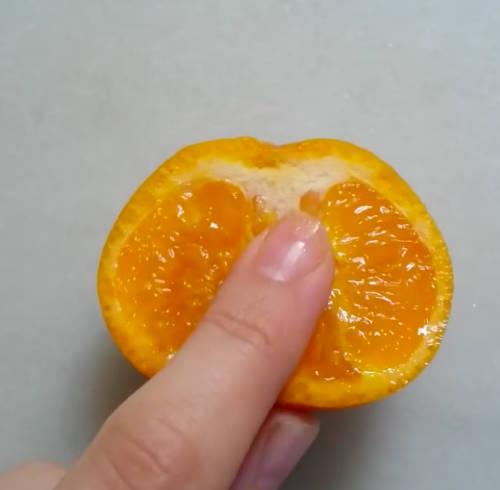 food eroticism tangerine