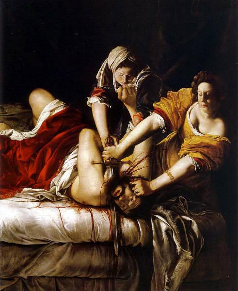 forgotten female artists Artemisia Gentileschi