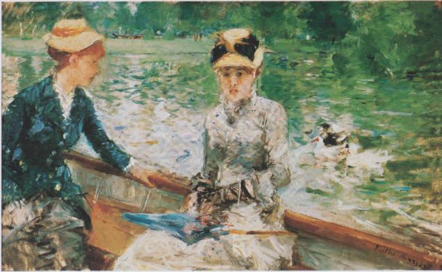 forgotten female artists Berthe Morisot Sommertag