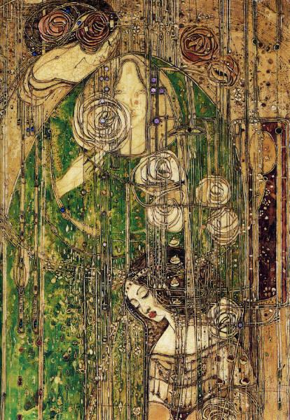 forgotten female artists Margaret Macdonald Mackintosh