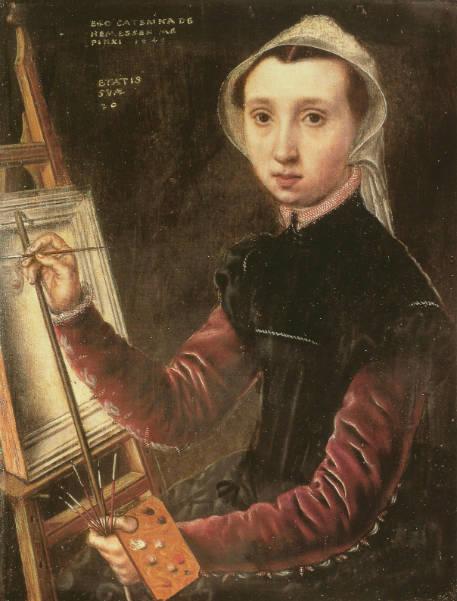 forgotten female artists caterina van hemessen