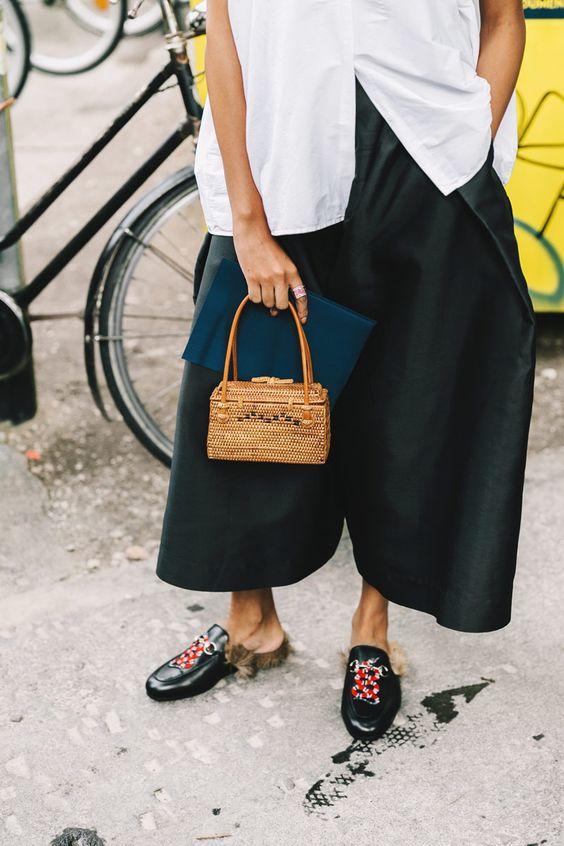 formas de usar zapatos planos negro zen