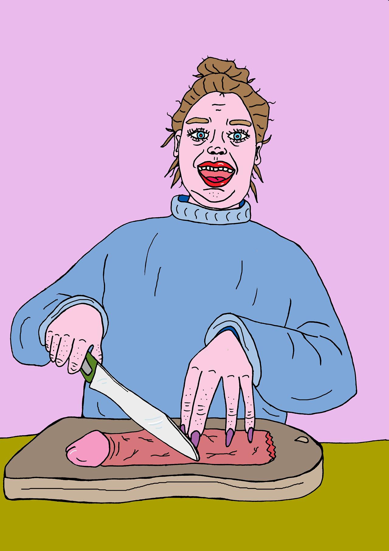 ilustraciones Venus Libido dick