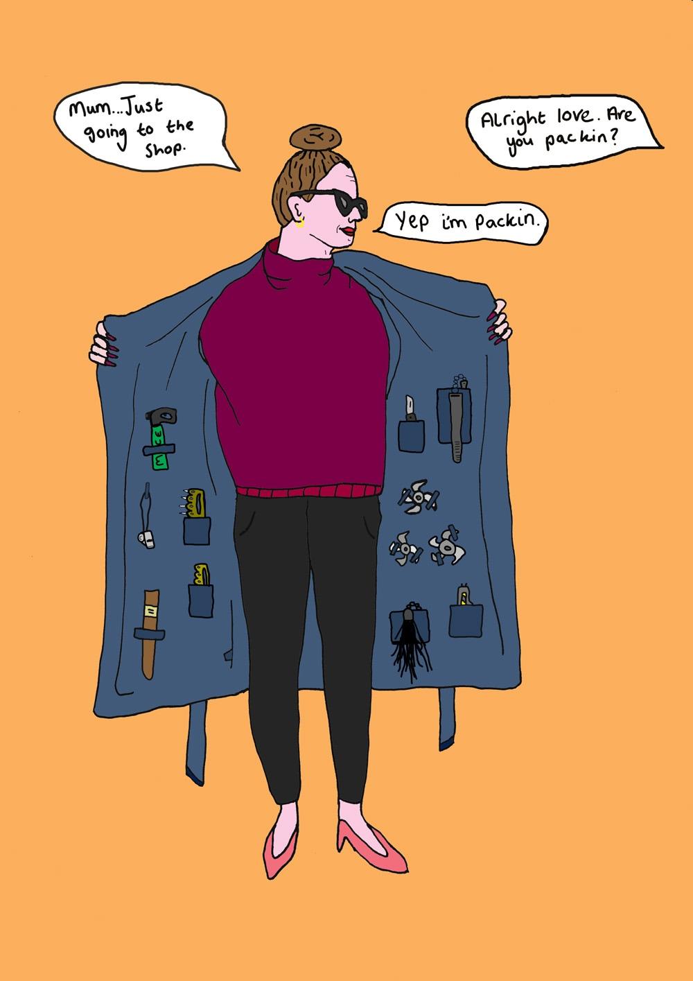 ilustraciones Venus Libido packing