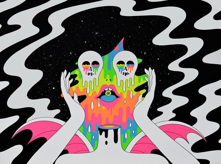ilustraciones de oliver hibert ojos