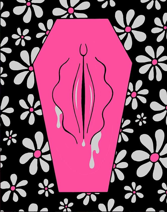 ilustraciones de oliver hibert tumba